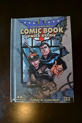 2018 Overstreet Comic Book Price Guide Hardcover 48Th Edition