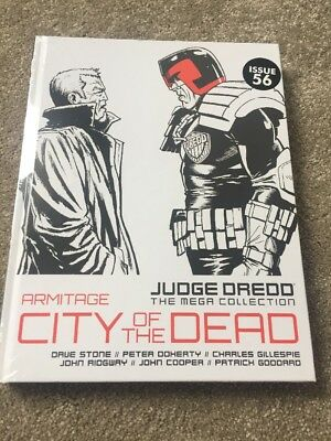 DREDD Mega Collection: Armitage: City Of The Dead - Issue 56 Vol 63 NEW Sealed