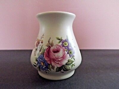 Axe Vale Pottery Devon Small Floral Vase
