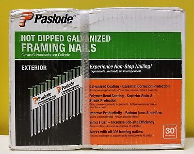 Paslode 650388 Hot Dipped Galvanized/Exterior Framing Nails 2,000 count. New.