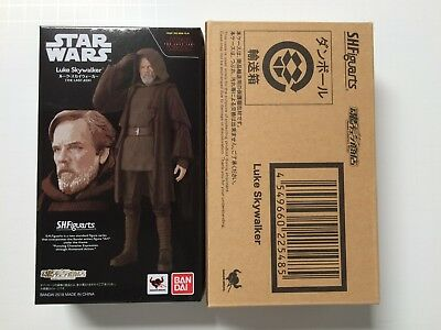 BANDAI S.H.Figuarts Star Wars Luke Skywalker THE LAST JEDI Authentic US Seller