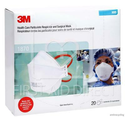 3m™ Of Aura™ Care Boxes Health 1870 20 Respirator Particulate 6