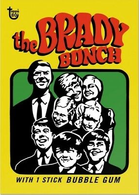 2018 Topps 80th Anniversary Wrapper Art Card #79 - 1971 Brady Bunch