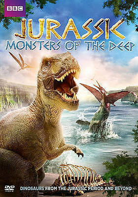 Jurassic: Monsters of the Deep (DVD, 2015) - SHIPS IN 1 BUSINESS DAY W/TRACKING
