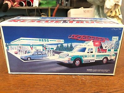1994 *HESS* RESCUE TRUCK  *NEW IN BOX*. Free Shipping!