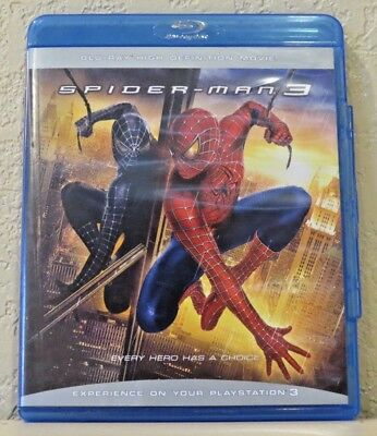 Spider-Man 3 (Blu-ray Disc, 2012)>>>>>>>>>>>FREE SHIPPING!