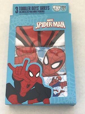 Spiderman Toddler Boys Briefs Size 4T