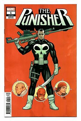 Punisher (2018) #1 1:50 Frank Cho Variant Bagged Boarded Marvel Comics Vf