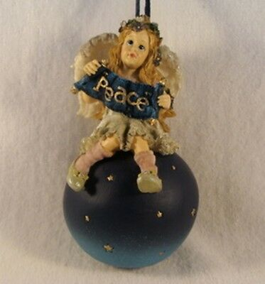 Boyd's  ~  OLIVIA ... Peace Ornament  *  NEW From Our Retail Shop
