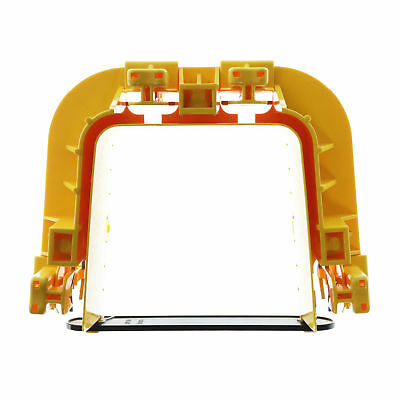 "Adc Commscope Fgs-Mfaw-A Fiberguide 4X4"" Snap-Fit Raceway Junction, Yellow"