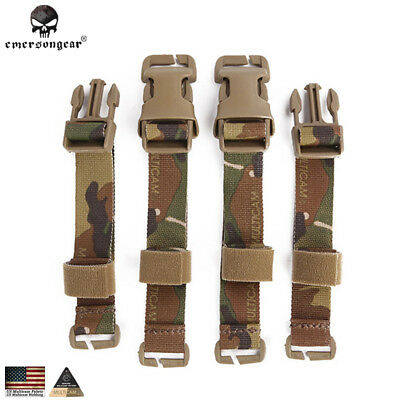 Emerson Chest Rig to Vest Adapter Kit Buckle Straps Set Adapter Kit Hunting Gear