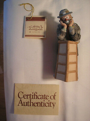 Emmett Kelly Jr Miniature WHY ME? Sad Clown Boxed w/papers