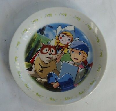"""Ceramic Plate """" A Dog of Flanders """" ( Nippon Animation )"""