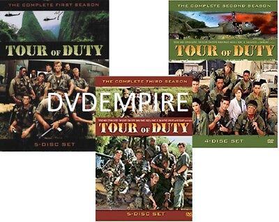 Tour Of Duty DVD Seasons 1 2 3 (Seperate Box Sets) New Sealed Australia Region 4