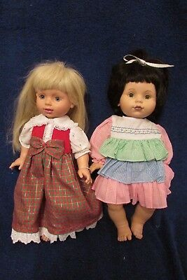 Two Playmates Baby So Beautiful Dolls