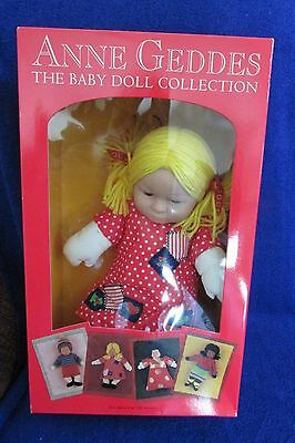 Anne Geddes Doll  Stephanie -  New  - Open Box