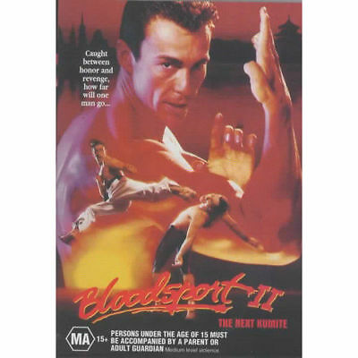 Bloodsport 2 II The Next Kumite DVD New Sealed Australia All Regions