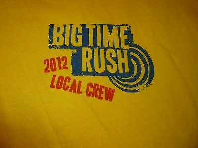 Big Time Rush Crew Tour Shirt ( Used Size XL ) Very Nice Condition!!!