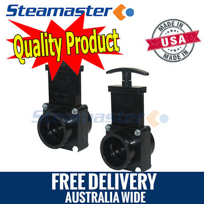 Carpet Steam Cleaning Machine 2 x Gate Valve/Dump Valve for Extractor Machines