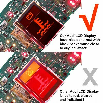LCD Display For Audi A3 A4 A6 S4 B5 VW Volkswagen Instrument Cluster Dashobard