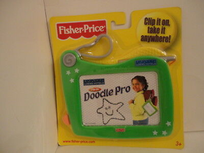 Fisher Price Clip On Doodle Pro Magnetic Drawing Surface NEW
