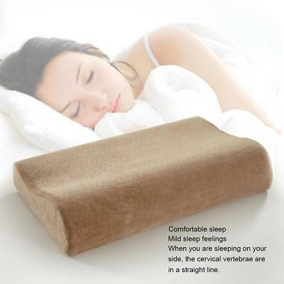 New Contour Memory Foam Pillow orthopaedic Firm Head Neck Back Support