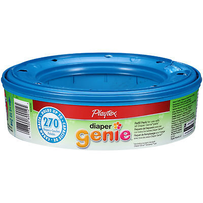 New Playtex Diaper Genie refill holds up to 270 diapers FAST FREE SHIPPING