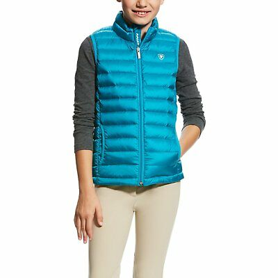 Ariat Fury Full Zip Womens Jacket Softshell Atomic Blue All Sizes