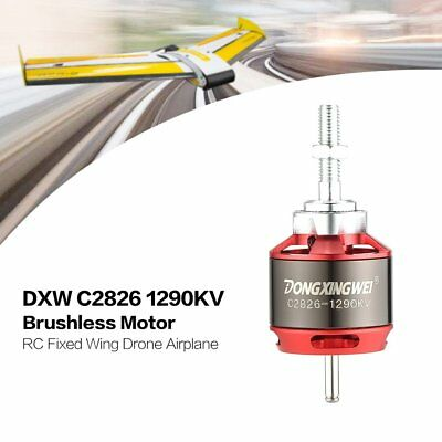 DXW C2826 1290KV 2-4S Outrunner Brushless Motor for RC Fixed Wing Airplane ES