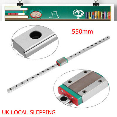 Miniature MGN12H Linear Guide Rail Guide Sliding Block for 3D Printer DIY Tool