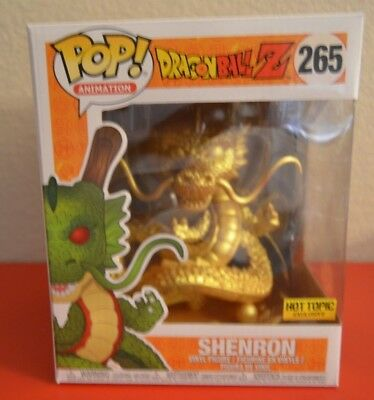 Funko POP! Animation Dragonball Z #265 Hot Topic Exclusive! New Golden Shenron