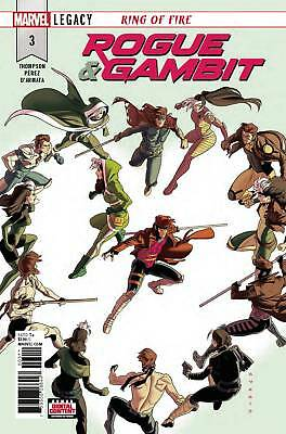 Rogue & Gambit #3 Regular Cover By Marvel Comics Sold Out!!