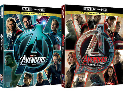 The Avengers, Age Of Ultron - 4K & Blu-ray Slip Case Edition (2018) UHD