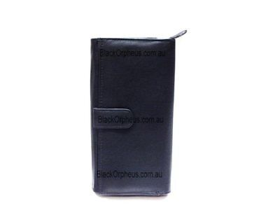 Leather Wallet, Black, Genuine Leather, Cher Oran Leather Wallet