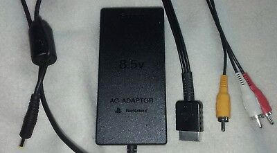 Playstation 2, PSU Power Supply Slim. AC Adapter Charger for PS2. SCPH- 70100.