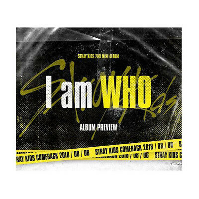 I Am WHO by STRAY KIDS The 2nd Mini Album [Who Ver.]