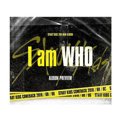 I Am WHO by STRAY KIDS The 2nd Mini Album [I am Ver.]
