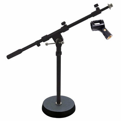 DP Stage Professional Short 170mm Diameter Solid Base Microphone Boom Stand MS 0