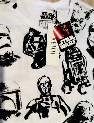 Star Wars Mens Shirt Kenji Size S Small New With Tags NWT Disney Gift