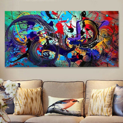 New~Canvas Huge Modern Home Wall Decor Art Oil Painting Picture Print Unframed