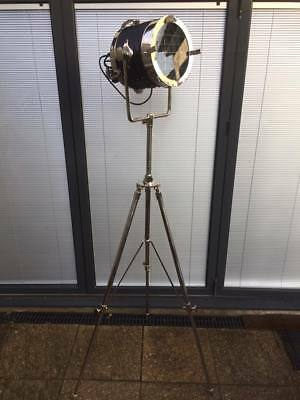 Focus / Nautical / Studio / Photography / Spot / Floor Standing Tripod Lamp