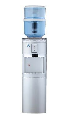 NEW AWESOME AIMEX WATER Free Standing Hot Cold and Ambient Dispenser! Silver