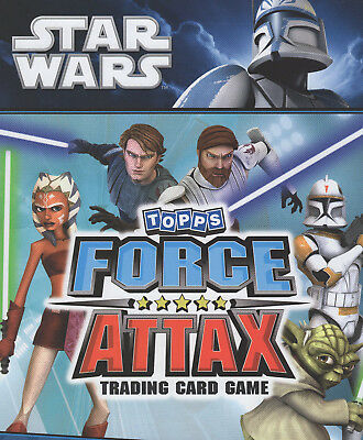 Topps Star Wars Force Attax Series 1 Complete Base Set 150 Cards