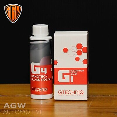 Gtechniq G1 G2 and G4 - Rain Water Repellent Windscreen Glass Polish Kit RainX
