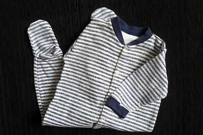 Baby clothes BOY 3-6m navy blue/white stripeTesco babygrow hardly used SEE SHOP!