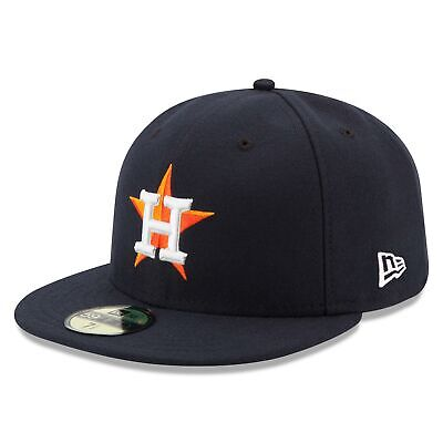 MLB Houston Astros New Era Authentic On Field 59FIFTY Fitted Cap Hat Headwear