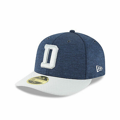 NFL Dallas Cowboys New Era 2018 Official Sideline Home Low Profile 59FIFTY 7ae007049a69