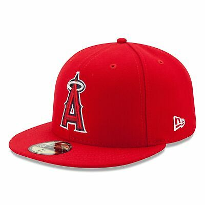 MLB Los Angeles Angels of Anaheim New Era Authentic On Field 59FIFTY Fitted Cap