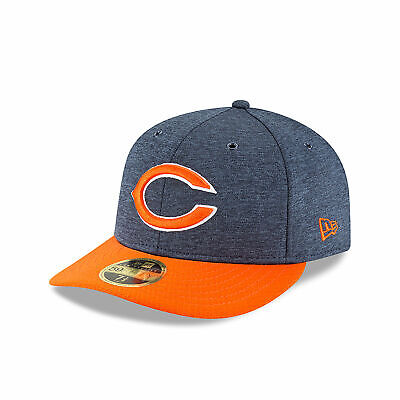 NFL Chicago Bears New Era 2018 Official Sideline Home Low Profile 59FIFTY  Fitted 7cc40f03c