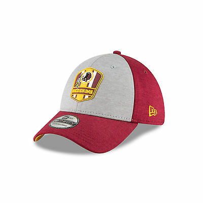 b9883285 NFL Washington Redskins New Era 2018 Official Sideline Road 39THIRTY  Stretch Fit